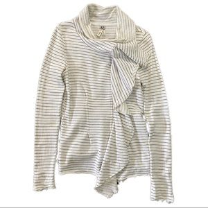Free People Full Zip Sweater Top - Women's L
